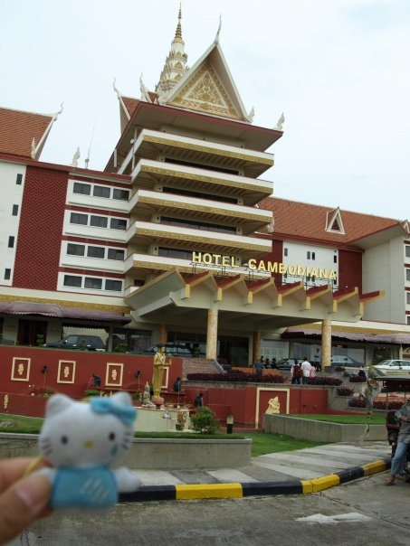 hello kitty hotel cambodiana phnom penh