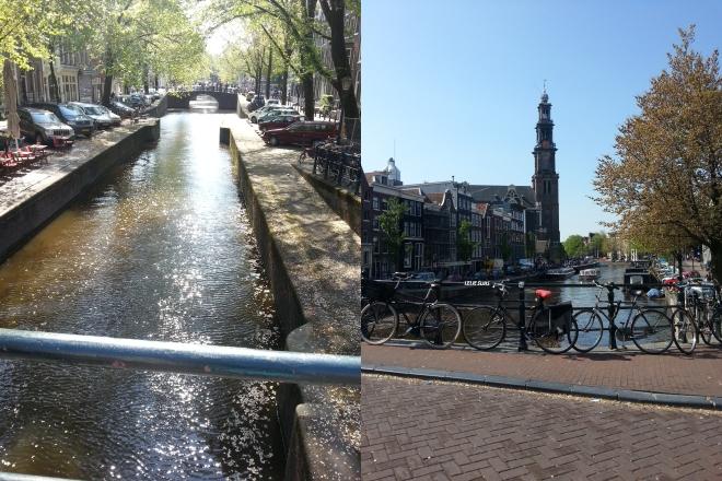 canaux Amsterdam teaso