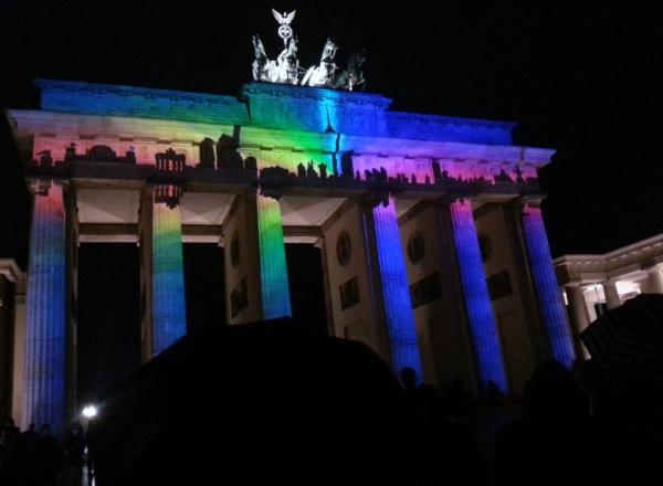 Brandenburger Tor Festival of Lights