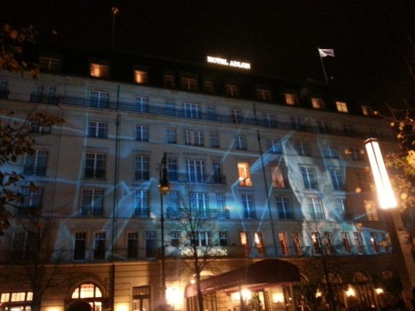 Hotel Adlon Berlin Lights