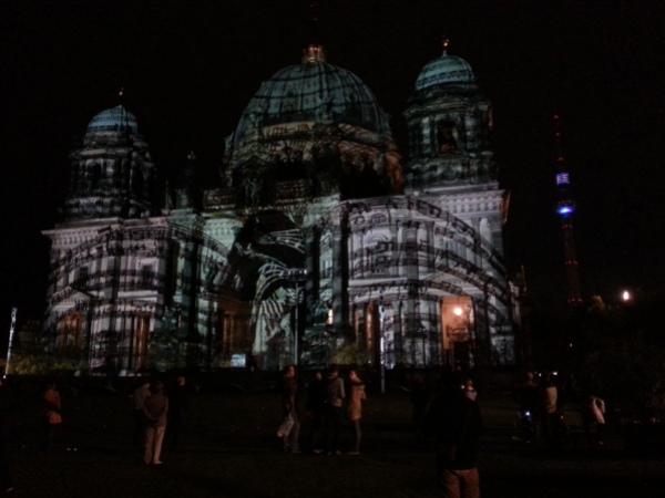 Berlin Dom Lights Music