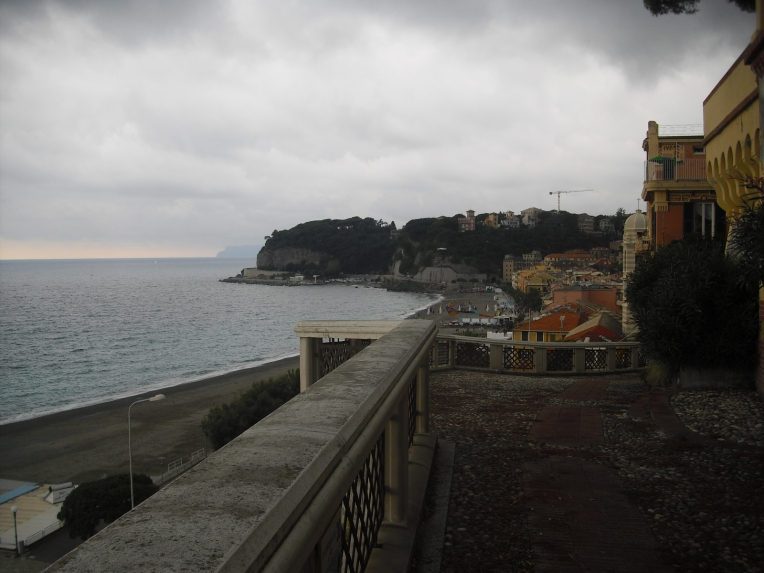 côte plage pluie italie