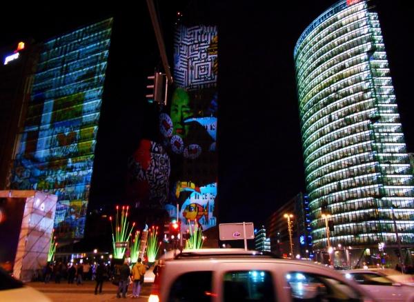 Amazing Potsdamer Platz Lights