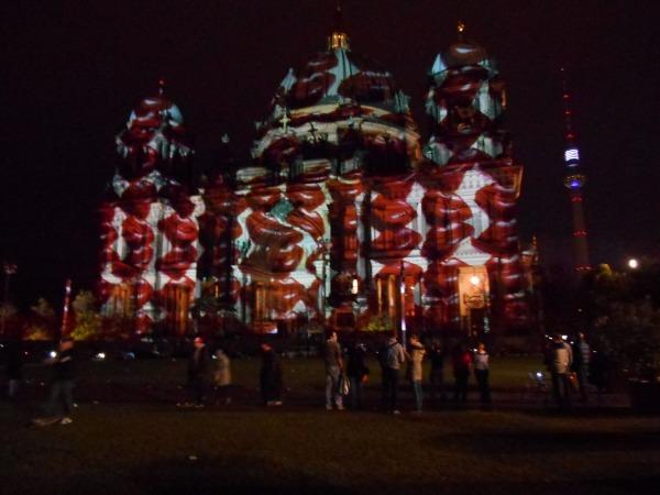 Berlin Dom Lèvres Festival of Lights