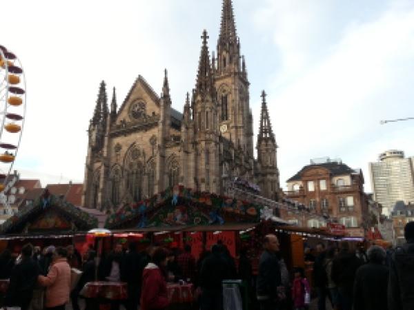 place de la réunion marché de noël mulhouse