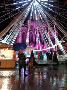 marché de noël mulhouse nuit