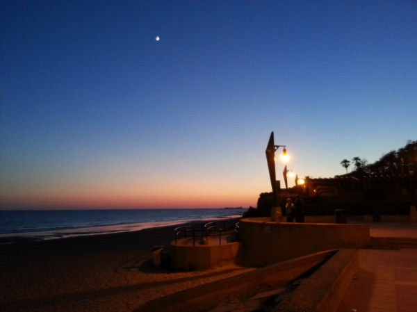 vue sur la plage cadix