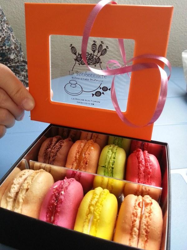 macarons bonbonnière la-roche-sur-foron
