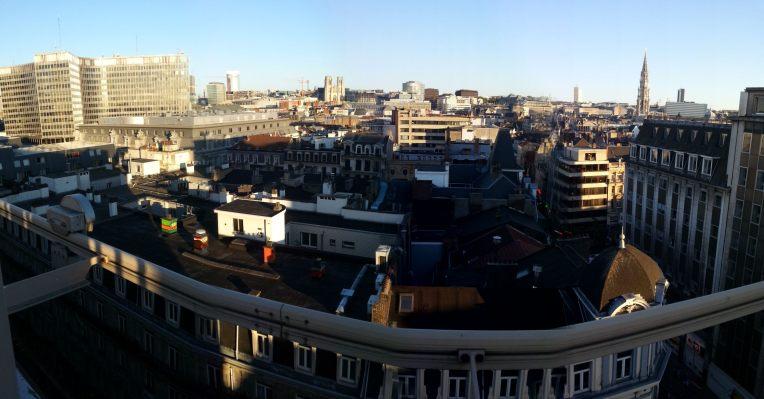 vue panoramique p58 bruxelles