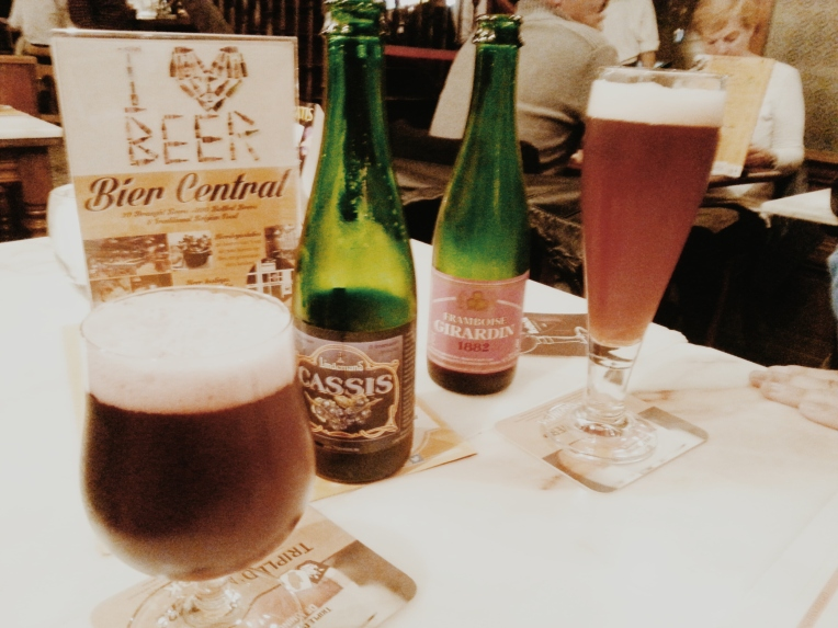 bières au bier central anvers