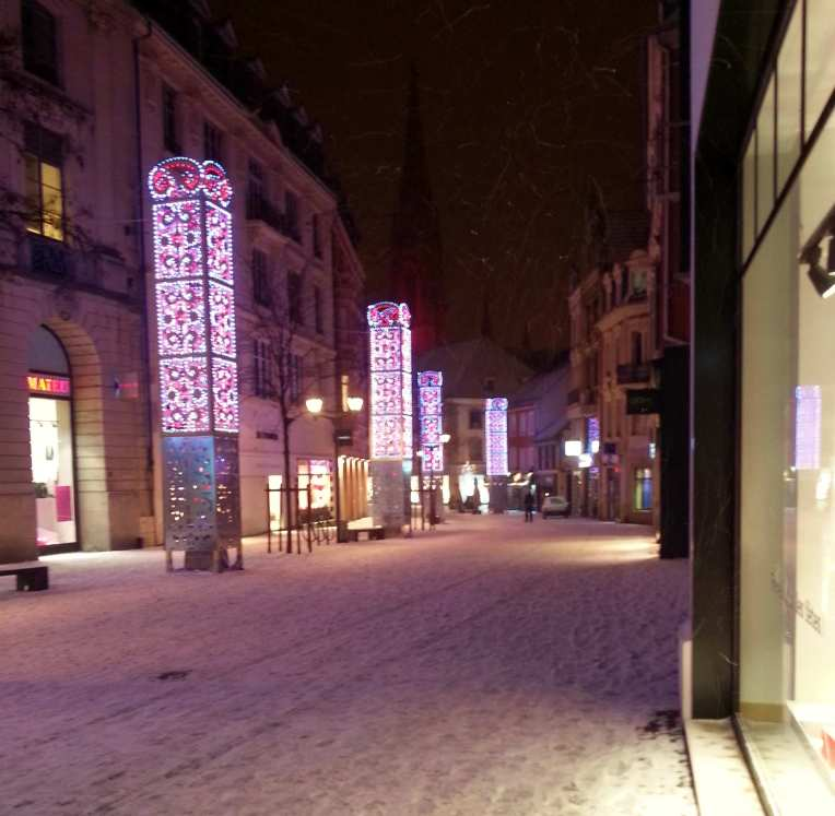 rue sauvage mulhouse neige