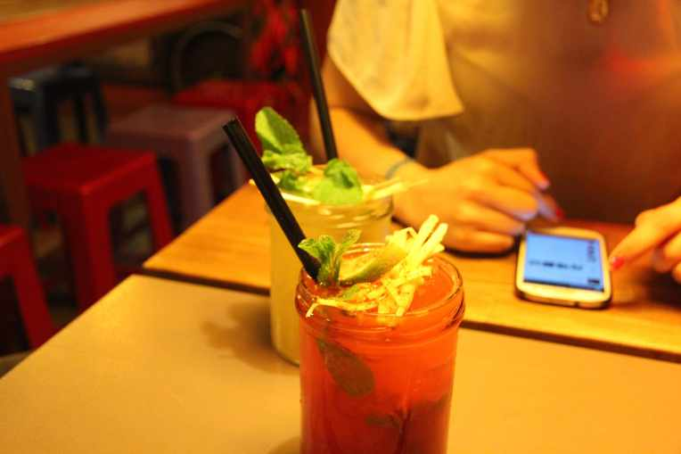 mojito fraise district mot