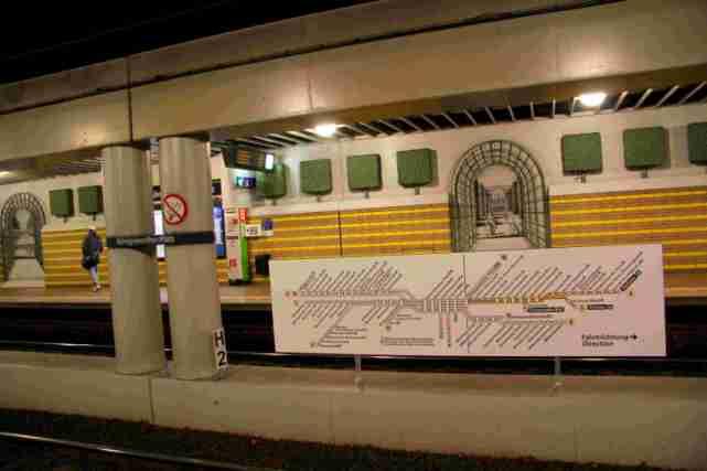 königsworther platz station métro