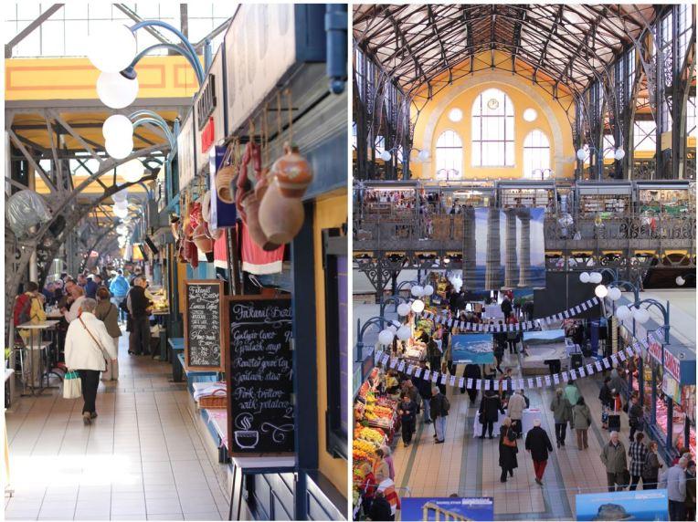 intérieur grand marché budapest