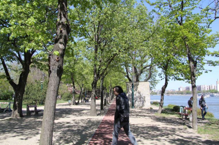 promenade île marguerite budapest