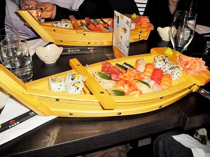 bateau sushis