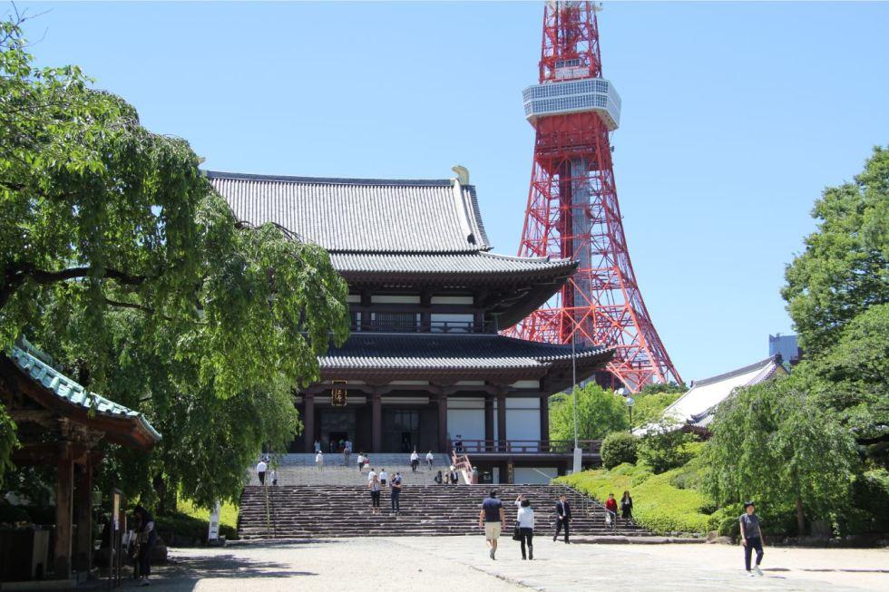 zojoji temple tokyo